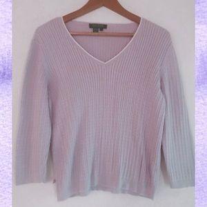 Vintage Ralph Lauren 💜 V knit sweater